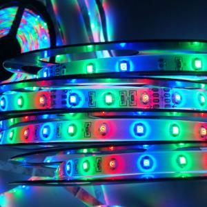 5050 Digital Black Or White Pcb Ws2801 Led Strip