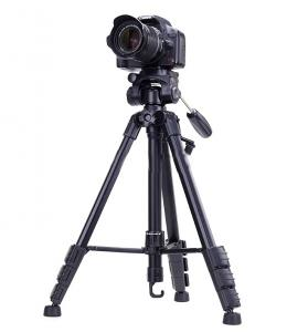Yunteng 690 Aluminum 4-Section Tripods For Camera And Video Camera