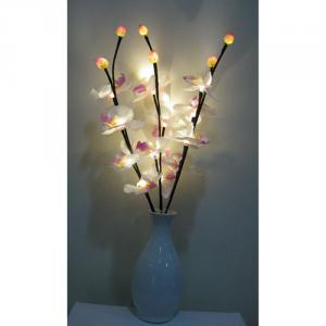 Led Flower Vase Light Battery Operated Christmas Light Decoration Light