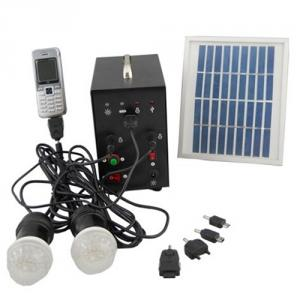 High Quality 3W 9V Solar Panel 4A Battery Solar System With Mobile Charge Cell Phone Charger