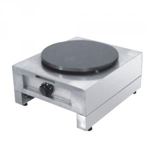 Industrial Gas Crepe Maker Machine with 400mm Diameter Cooking Plate