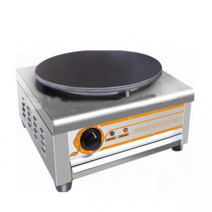 Single Plate Crepe Maker Silver Color