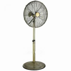 JINLING Antique Metal Electric Stand Fan 12-16 Inch