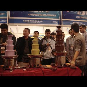 Stainless Steel 5 Tier 50Cm Chocolate Fountain/Industrial Chocolate Fountain