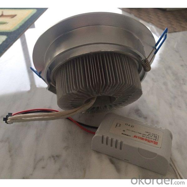 3w-12w Power Supply Outside 220V AC CE RoHS Led Ceiling