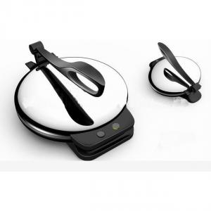 Aluminum Crepe Maker with Double Teflon and Coating Colorful