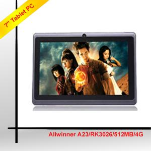 7 Inch Android Tablet,Allwinner A23 Tablet, Tablet 7 Inch High Quality