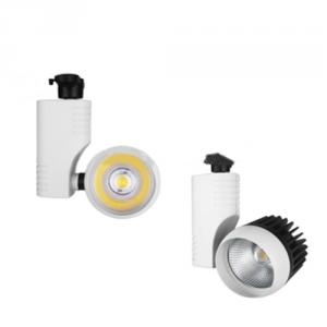 20W 30W Led Cob Track Light Epistar 2 Wires 85V-265V Ce Use In Clothing Store