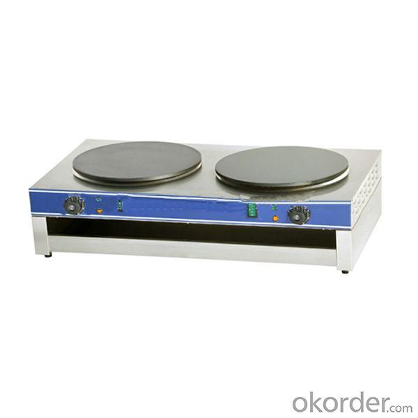 Electric Crepe Maker with Thermostat Control