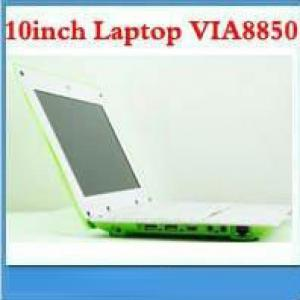 10Inch Mini Laptop Via8853 Made  In China