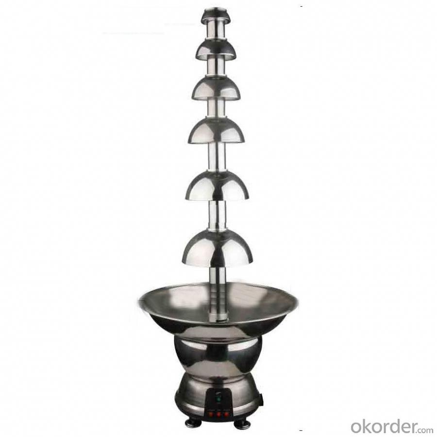 6 Tiers Commercial Chocolate Fountain