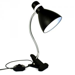 Ul Fcc Approved Led Dimmable Desk Light , Eye Protection Reading Lamp, Led Clip Table Lamp