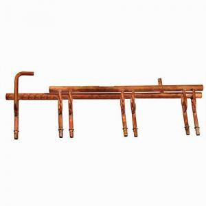 Copper Suction Header Assembly for Air Conditioner