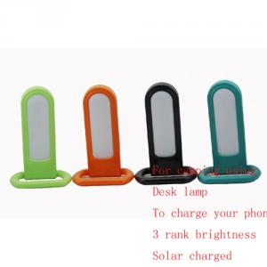 New Design Led Solar Camp Lamp With Phone Charing And Sos Function
