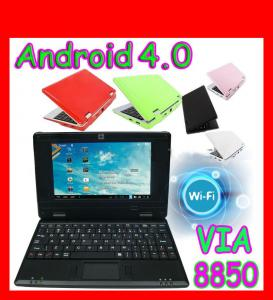 7 inch Android 4.0 VIA WM8850 mini laptop