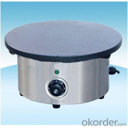 Multi-Function Crepe Maker with Round Hot Plate Burner