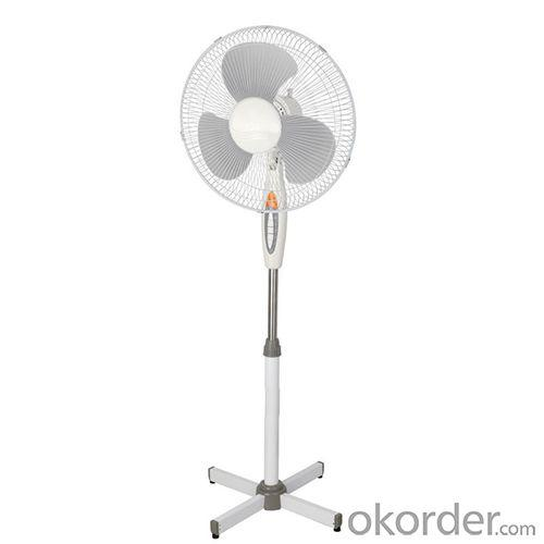 Home Appliances Stand Fan with LED Indicator Light