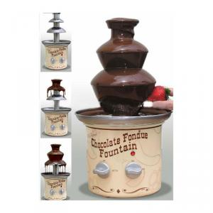 Chocolate Fondue Fountain / Mini Chocolate Fountain/ As Seen On Tv
