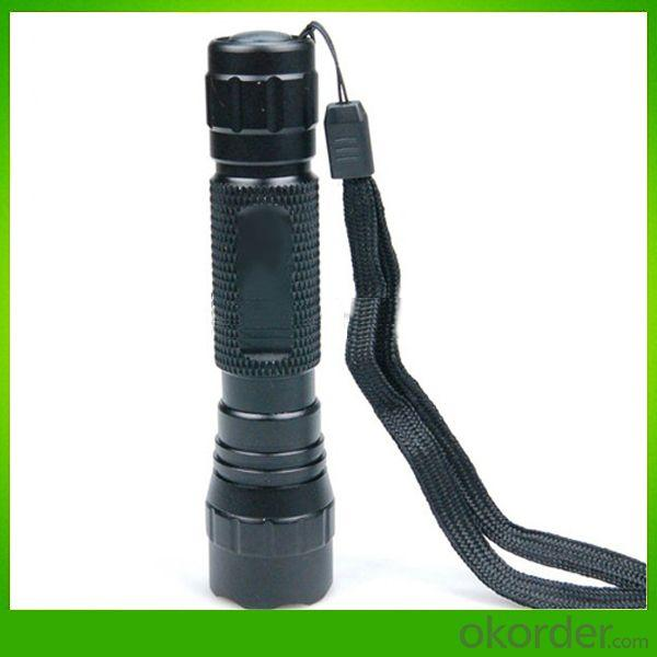 New Products!WF-501B Waterproof 5-Mode Cree XM-L T6 blue LED Flashlight Torch(1000 LM, 1x18650)