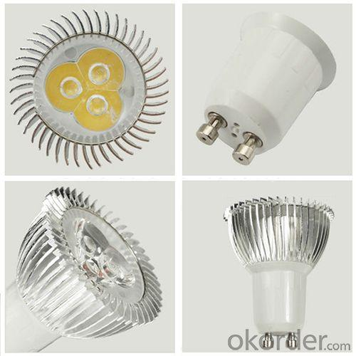 Spotlight Led Lighting Non Dimmable 15/30/45 Degree E27/Gu10/Gu5.3/Mr16 Ac86V-265V Dc12V Led Gu10 Bulb