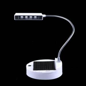 0.44W 650Mah 4 Led Solar Desk Indoor Reading Table Lamp Light