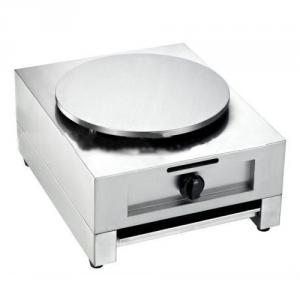 Gas Crepe Maker Single Plate Auto-Thermostat Control