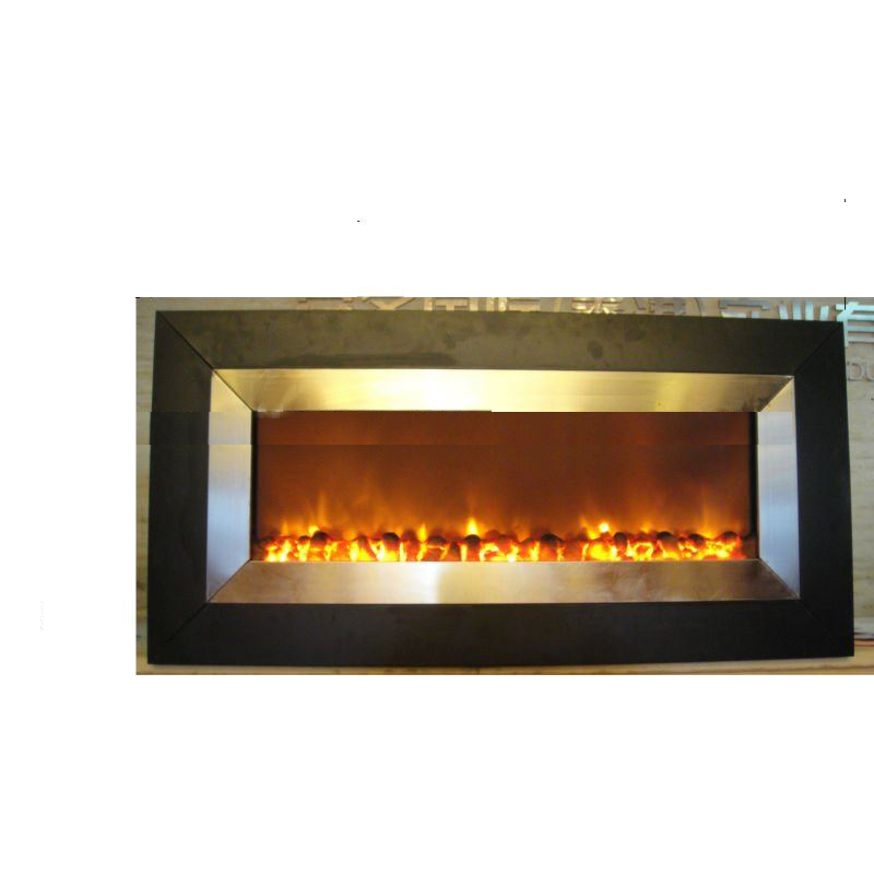 Electrical Fireplace with Wall Mounted Style