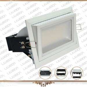 High brightness long lifespan 90lm/w rectangle 38w led downlight
