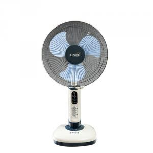 Solar Rechargeable Fan with LED