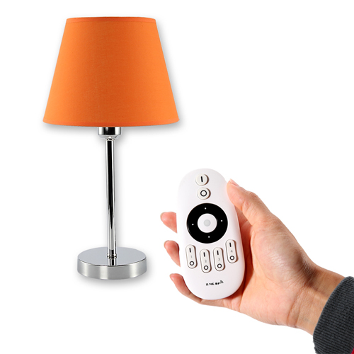 Merveilleux Ireless Remote Control Table Lamp With Dim And Cct
