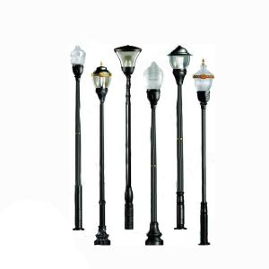 Municipal Construction Classic LED Garden Pole Light From China Manufacturer