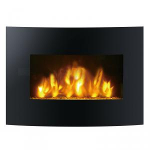 Wall Mounted Electric Fireplace with Remote Control