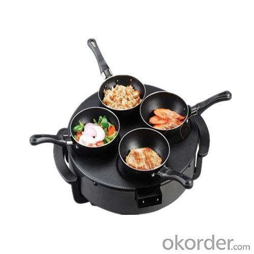 Crepe Maker with Rrying Pan Design for Family