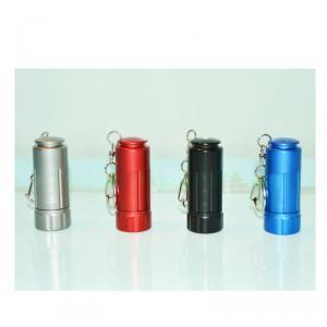 Classy Aluminium Rechargeable Flashlight - Aluminium Rechargeable USB Mini LED Torch Lamp Light Pocket Flashlight with Keychain