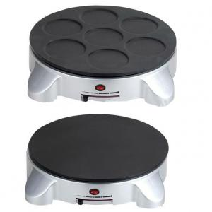 Electric Crepe Maker Machine with Detachable Non-stick Coating Plate