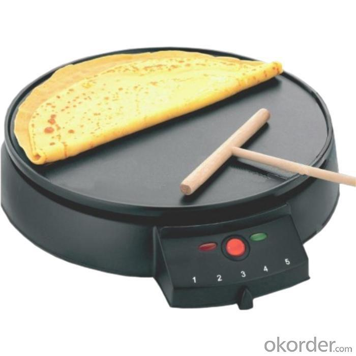 Crepe Maker with Five Different Temperature Adjustment