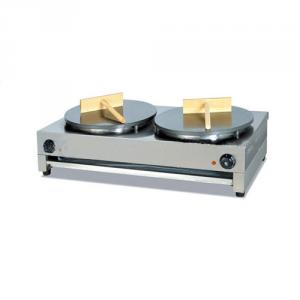 Commercial Electric Crepe Maker with Stainless Steel Double Plate