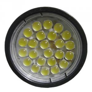 24Pcs 85-265V Ac White Color 5050Smd Gu10 Led Spotlight With Lense