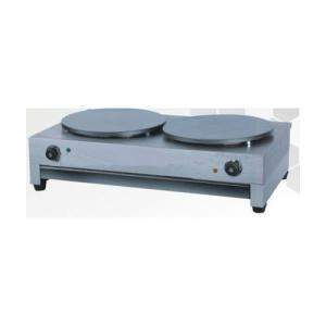 Electric Crepe Maker with Teflon Coated Cooking Plate