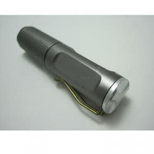 1 LED Black Aluminium Led Flash Light