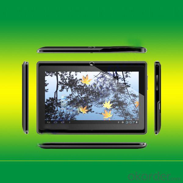 Hottest Model 512Mb/4Gb 7 Inch Allwinner A13 Q88 Tablet Pc