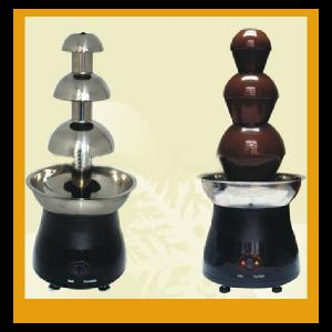 Hot Sale 110V 220V Electric Mini Chocolate Fondue Party Fountain W/3 Tier Tower