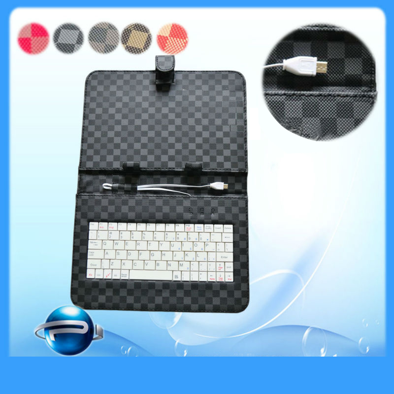 Q88 86V A23 A20 Rk3026 Mtk8312 Tablet Micro USB PU Case Android PU 10.1Inch 9Inch 7 Inch Tablet Keyboard Case
