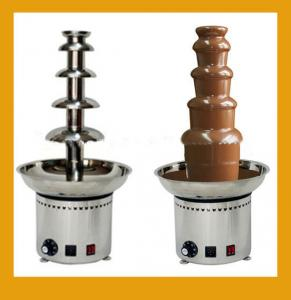 110V 220V Electric 5 Tiers Party Hotel Commercial Chocolate Fountain