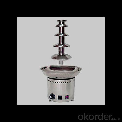 Five- Layer Stainless Steel Chocolate Fountain Stand On Sale