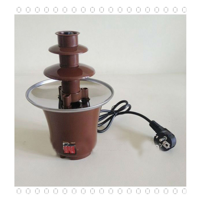 Fashion Style Rechargable Chocolate Fountain Tv