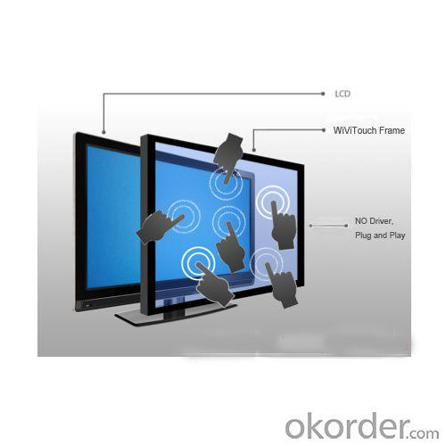46'' Usb Infrared Multi Touch Screen, Ir Multi Touch Overlay,, Muti Touch Frame
