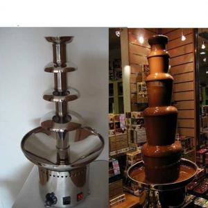 Types To Choose Of Stainless Steel Large Chocolate Fountain/Chocolate Fountain Machine Prices/Led Chocolate Fountain Base
