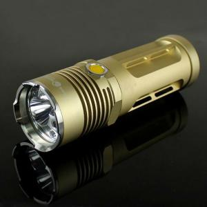 Hand Held 1 Led Portable Straw Hat Aluminum Led Torchlight