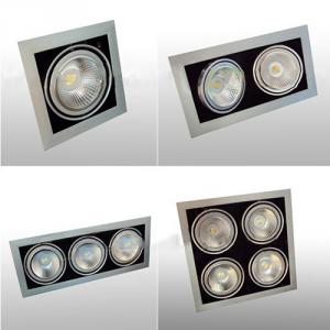 25W Led Qr111 Square Ceiling Light Ar111 Grille Ar111 Spotlight 25W